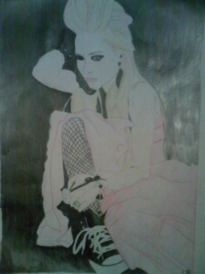 Avril Lavigne par angeltelimi23